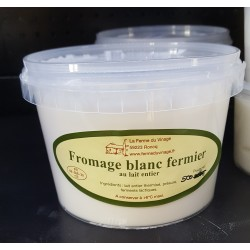 Fromage blanc entier 500g
